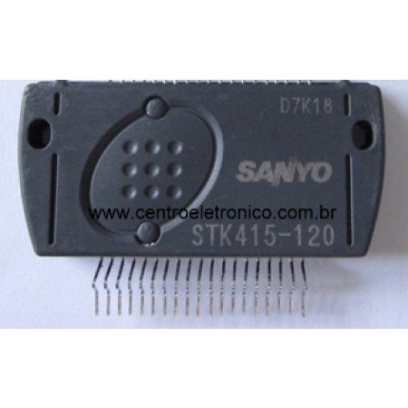 CIRCUITO INTEGRADO STK415-120 SANYO ORIG