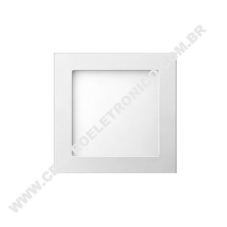 LUMINARIA LED SOBREPOR 16X16CM 12W BR-F