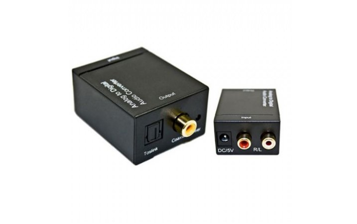 CONVERSOR(G)ANAL RCA-F + DIG OPTICO(ENC)