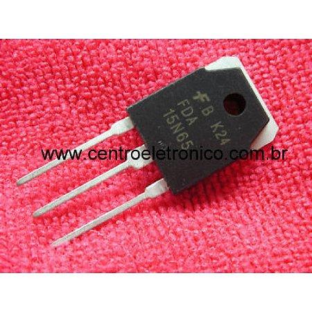 TRANSISTOR MTP15N65FP 15A/650V FET TO220