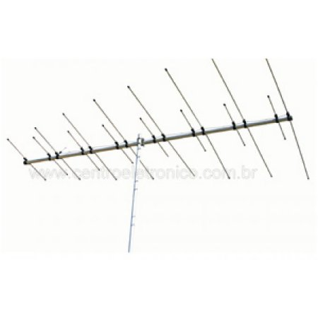 ANTENA TV EXTERNA HDTV SELADA INDUSAT AE800I