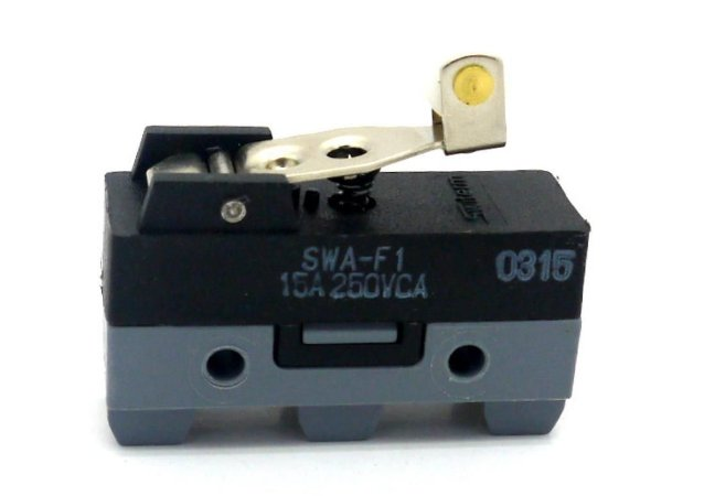 CHAVE MICRO SW 15A C/ROLETE 30MM COMPL