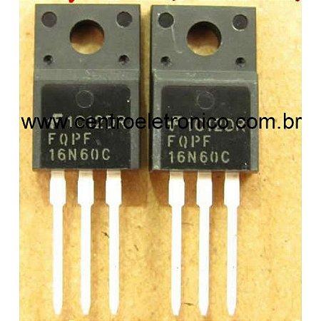TRANSISTOR MTP16N06FP FET 11A 60V ISOLA