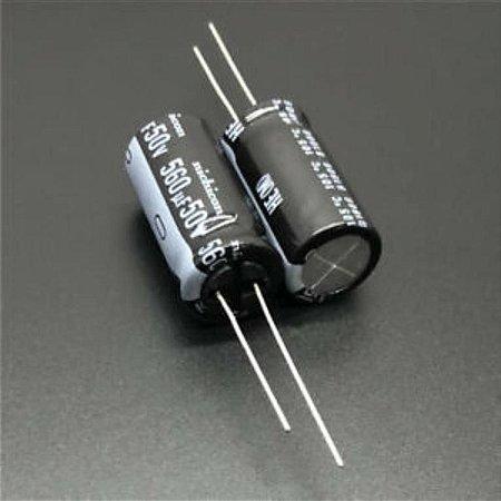 CAPACITOR ELETROLITICO 560MFX50V 105G