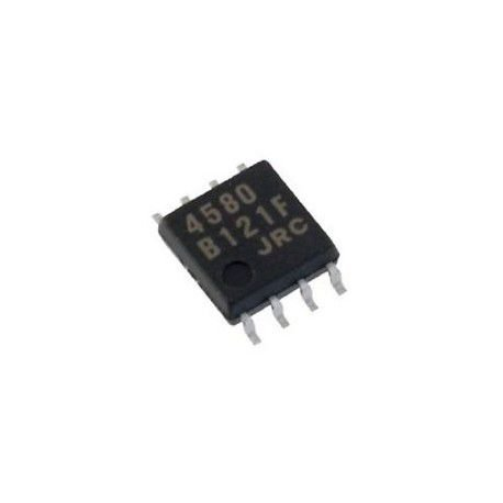 CIRCUITO INTEGRADO NJM4580 SMD 8P 5X5MM