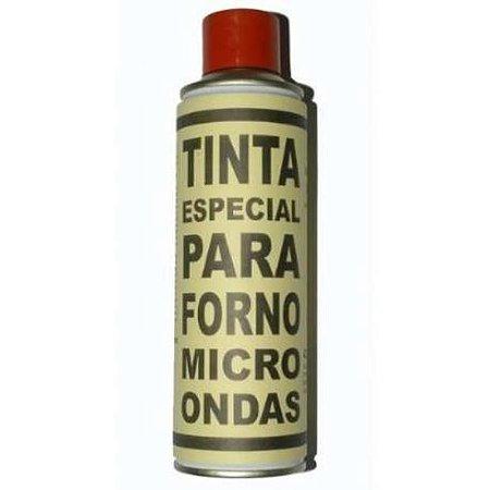 TINTA FORNO MICROONDA SPRAY PRETA 270ML
