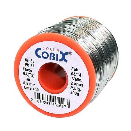 SOLDA COBIX CORAL 0,5MM 500G SN63%XPB37%