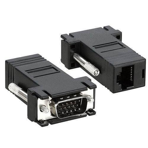 ADAP VGA MACHO DB15M X RJ45-F(UNIT)MXB