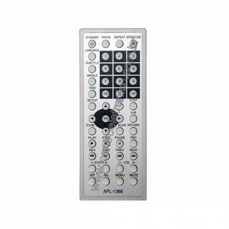CONTROLE DVD FOSTON FS838 C/BAT CR2032
