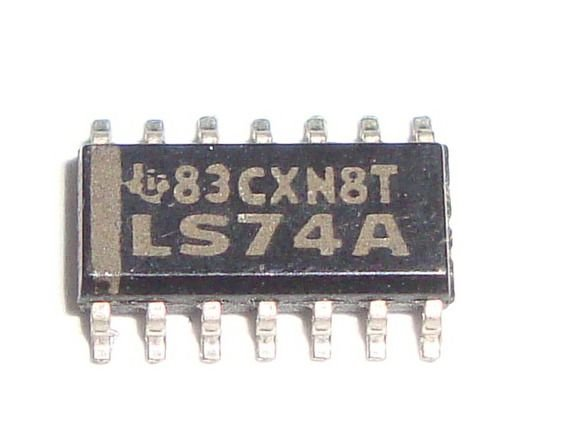 Circuito Integrado Sn74ls74 Smd