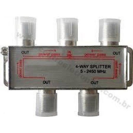DIVISOR 4X75R ALTA 900-2400MHZ C/ABA KR