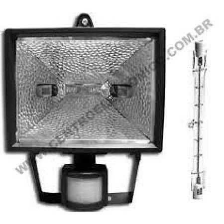 REFLETOR 150W C/SENSOR INFRA VM PRETO