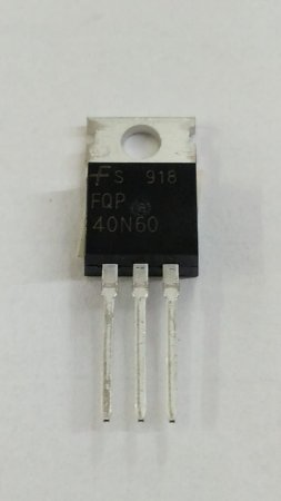 TRANSISTOR MTP40N60 FET 40A MET TO220 PQ