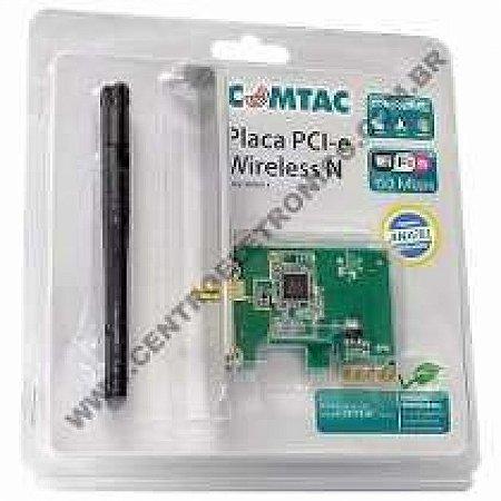 PLACA REDE PCI EXPRE WIFI 150MBP