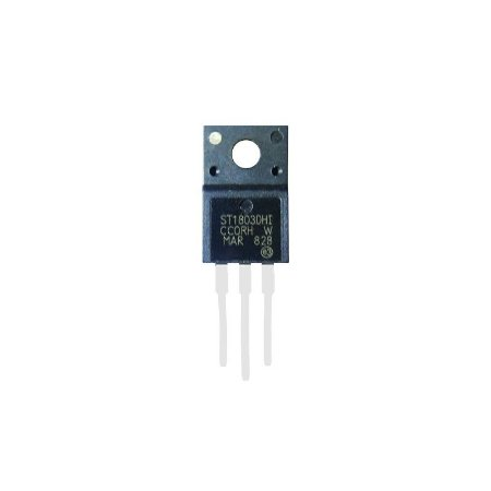 TRANSISTOR ST1803DHI/DFH ISOL PEQUENO