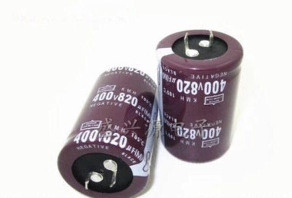 CAPACITOR ELETROLITICO 820MFX400V RD 105G