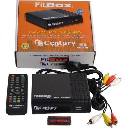 CONVERSOR DIGITAL PARA TV HDTV CENTURY COM HDMI