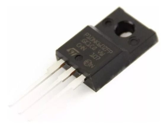TRANSISTOR MTP10NK60ZFP FET ISOL TO220