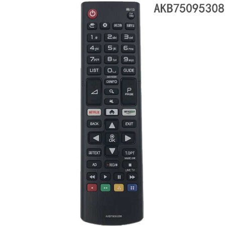 CONTROLE LG LED AKB75095308 NETFLIX AAA