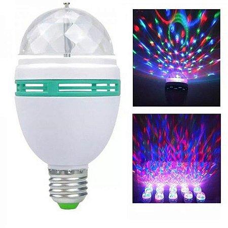 LAMPADA BULBO GIRATORIA RGB E27 BIV FNB