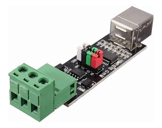 MODULO CONVERSOR USB B FEMEA 2.0 PARA SERIAL RS485