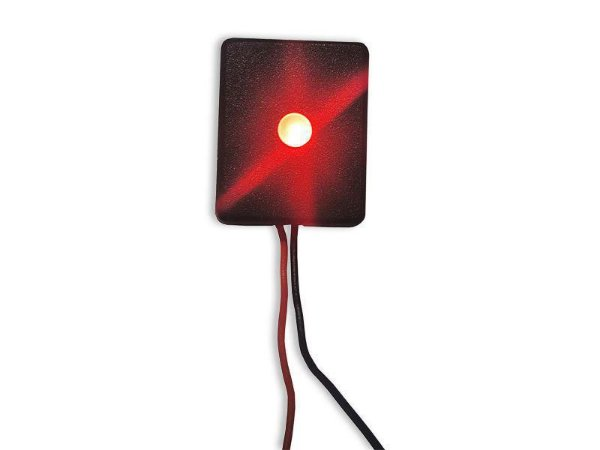 PISCA LED 12V 3MM VM 20X25X10M FIO PT/VM