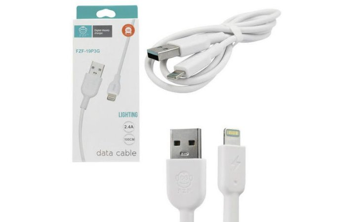 CABO(G)USB A-M IPHONE 1MT BR LIGHT EBAI