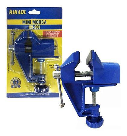 Morsa Mini Metalica Hikari Azul