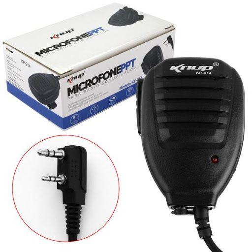 MICROFONE PPT RADIO COMUNICADOR P2ST+P1S