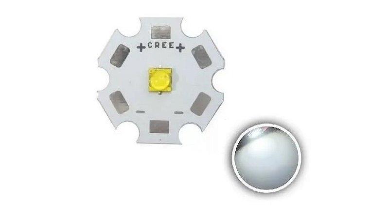 DIODO LED 5W CREE BR-FRIO 20MM C/DISSIP