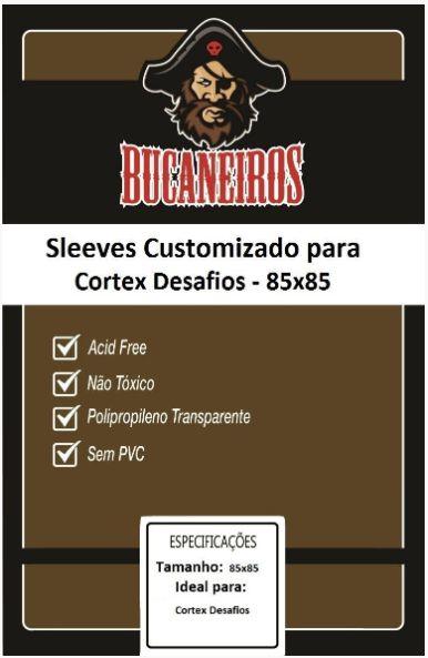 Sleeve Customizado - Cortex Desafios (85 x 85) Bucaneiros