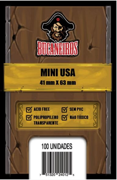 Sleeve Mini USA (41 X 63) - Bucaneiros