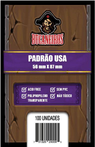 Sleeve Padrão USA (56 x 87) Bucaneiros