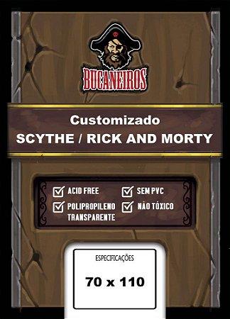 Sleeve Customizado - Scythe; Rick and Morty (70 x 110) Bucaneiros
