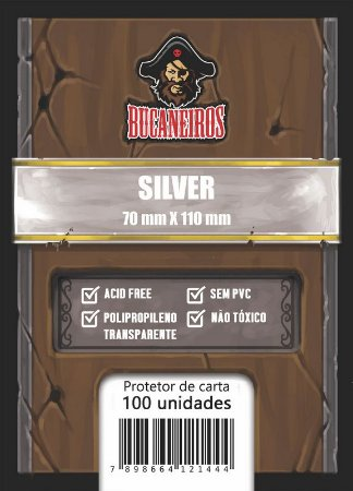 Sleeve Silver (70 X 100) - Bucaneiros