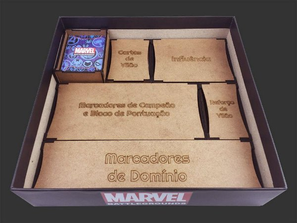 Organizador (Insert) para Marvel Battlegrounds