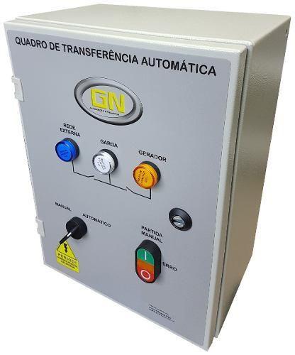 PAINEL TRANSFERÊNCIA REDE / GERADOR ( QTA) 160 A
