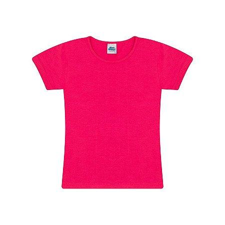 Blusa de manga em cotton cor pink