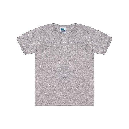 Camisa em meia malha cor mescla