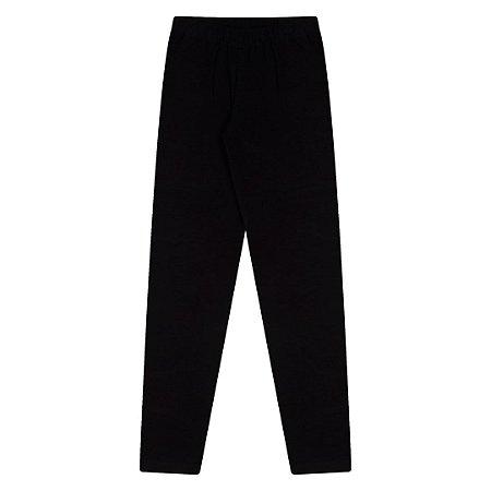 Legging em cotton cor preto
