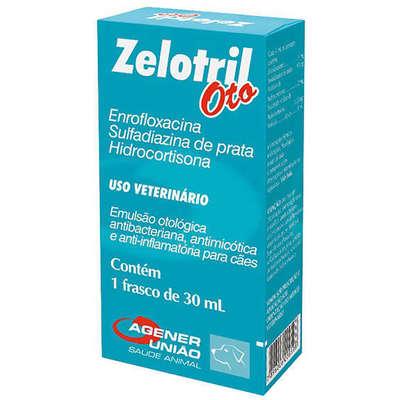 Emulsão Otológica Zelotril Oto - 30 mL