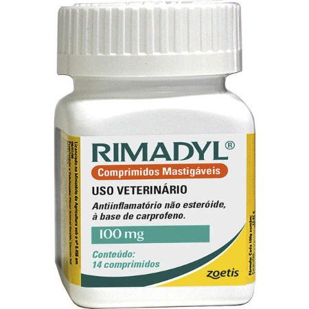 Anti-Inflamatório Zoetis Rimadyl de 14 Comprimidos 100g