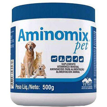 Complexo Vitamínico Aminomix Pet 500g