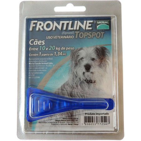 Antipulgas E Carrapatos Frontline Topspot Cães De 10 A 20 Kg