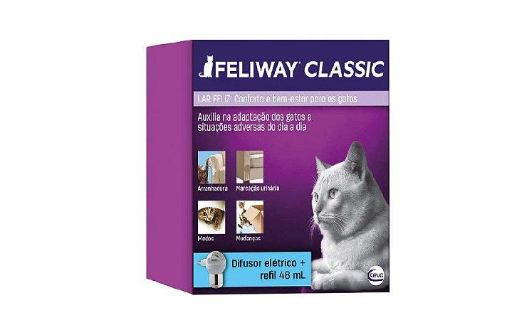 Feliway Classic Ceva - Difusor + Refil 48ml