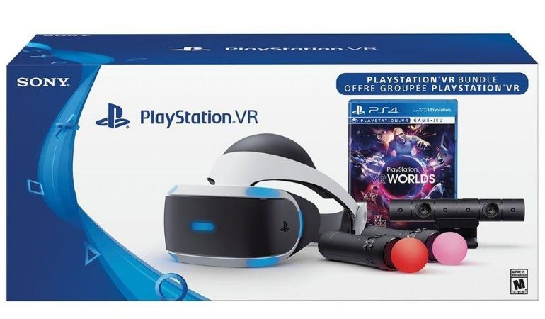 Playstation VR Launch Bundle Oculos VR PS4