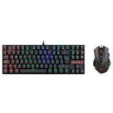 Combo Gamer Teclado E Mouse Redragon K552rgb-ba