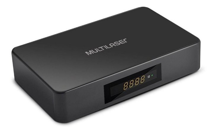 Smart TV Box Android + conversor Multilaser