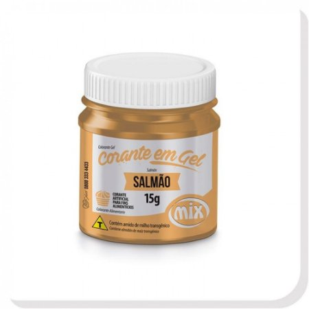 CORANTE GEL 15G SALMAO MIX