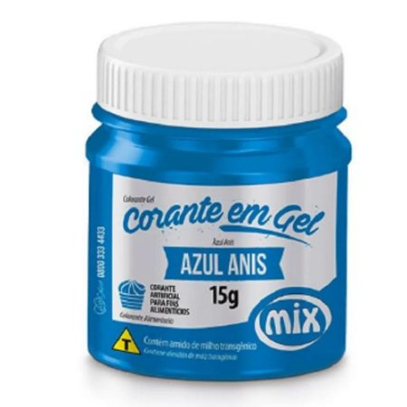 CORANTE GEL 15G AZUL ANIS MIX